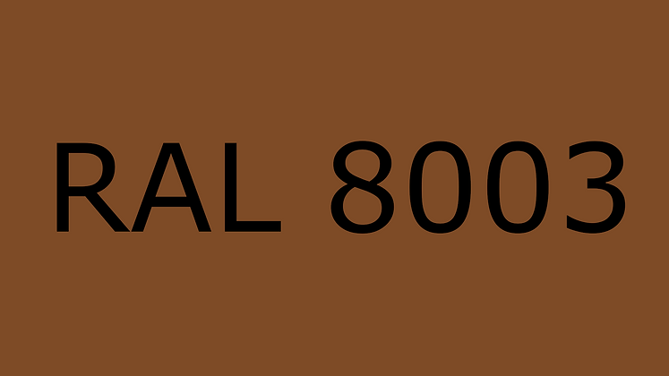 purefil Filament RAL 8003 1.75mm