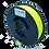 Thumbnail: purefil PLA Filament neongelb 0.35kg 1.75mm