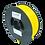 Thumbnail: purefil PLA Filament gelb 1kg 1.75mm