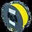 Thumbnail: purefil TPC Filament 52D gelb 1kg 1.75mm