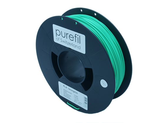 PLA Filament neongrün 0.35kg 1.75mm