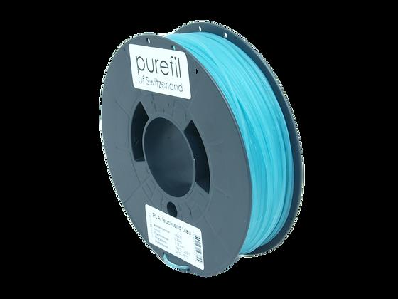 purefil PLA Filament leuchtend blau 0.35kg 1.75mm