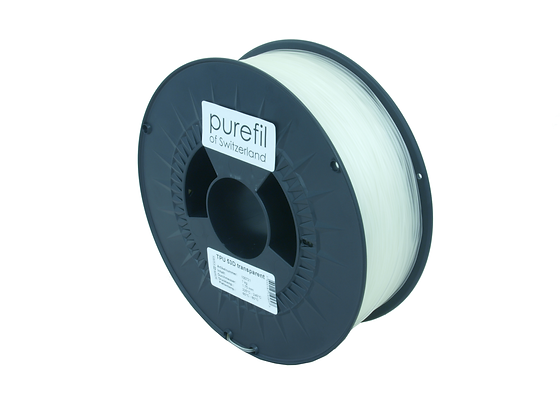 purefil TPU Filament 53D transparent 1kg 1.75mm