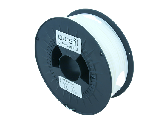 purefil TPC Filament 52D weiss 1kg 1.75mm