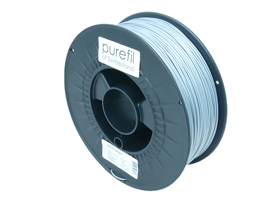 purefil PETG Filament silber 1kg 1.75mm