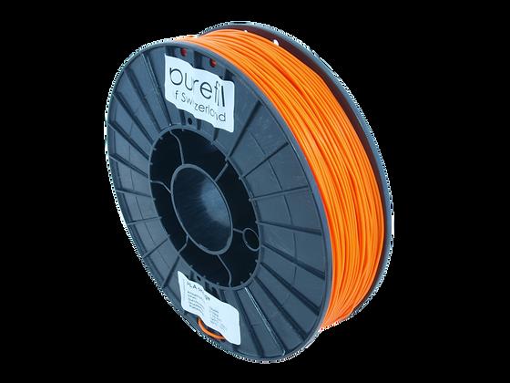 purefil PLA Filament orange 0.75kg 1.75mm