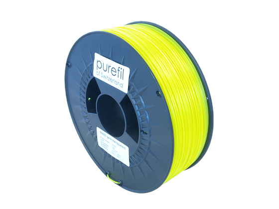 purefil MABS Filament gelb transparent 1kg 1.75mm