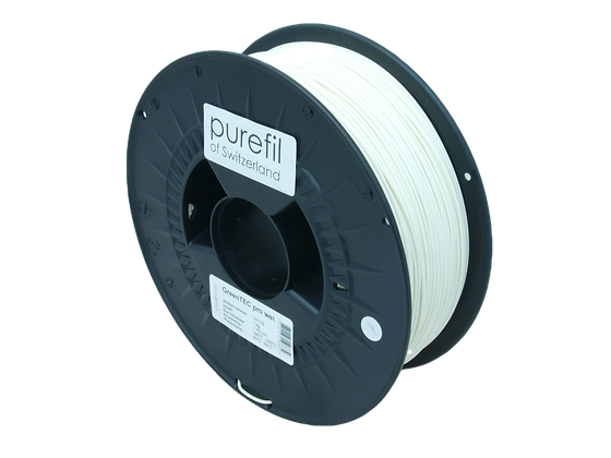 purefil GreenTEC pro Filament weiss 1kg 1.75mm