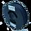 Thumbnail: purefil PLA Filament dunkelblau 0.35kg 1.75mm