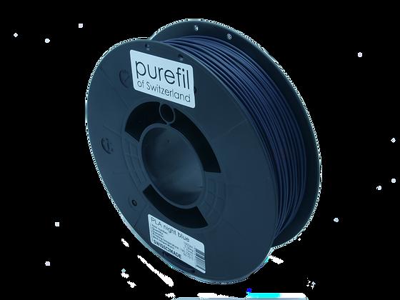 purefil PLA Filament dunkelblau 0.35kg 1.75mm