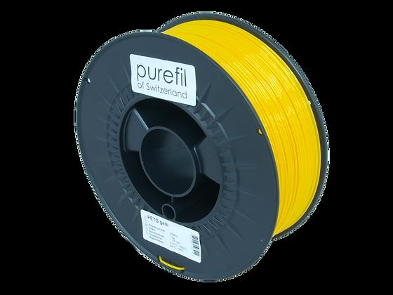 purefil PETG Filament gelb 1kg 1.75mm