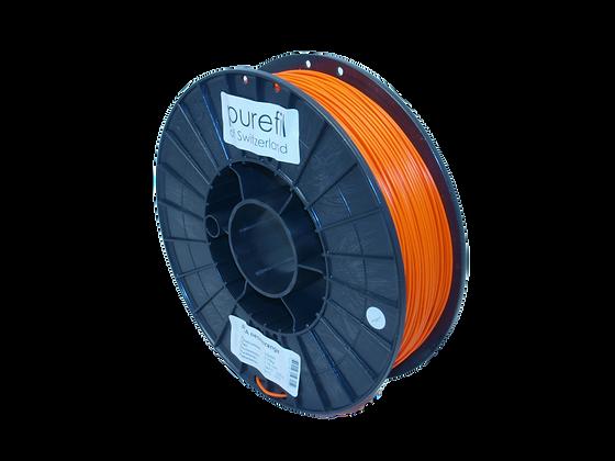 purefil PLA Filament neonorange 0.75kg 1.75mm