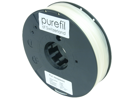 purefil PLA Filament transparent 0.35kg 1.75mm