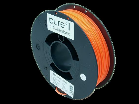 purefil PLA Filament neonorange 0.35kg 1.75mm