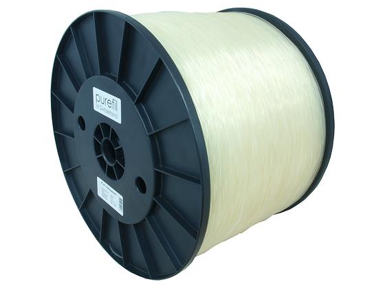 purefil PLA Filament transparent 10kg 1.75mm