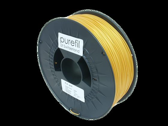 purefil PLA Filament gold 1kg 1.75mm