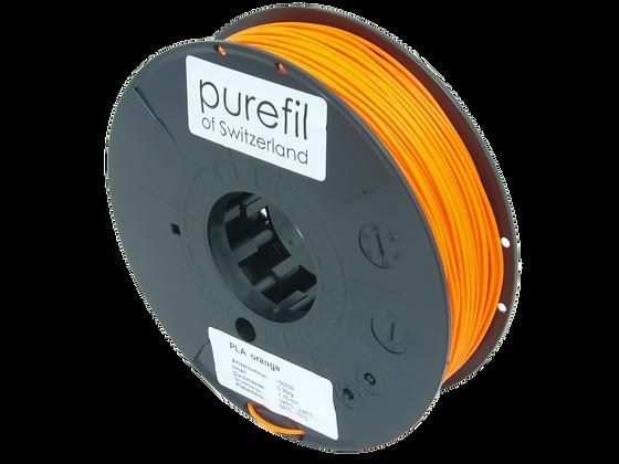 purefil PLA Filament orange 0.35kg 1.75mm