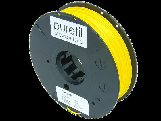 purefil PLA Filament gelb 0.35kg 1.75mm
