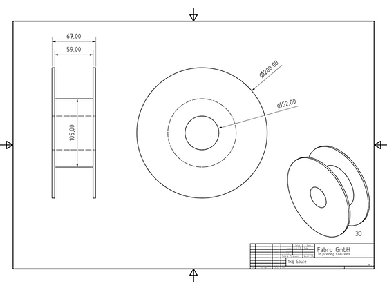 purefil TPU Filament 53D gelb transparent 1kg 1.75mm