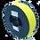 Thumbnail: purefil TPU Filament 53D gelb transparent 1kg 1.75mm