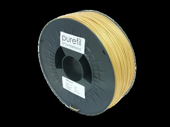 purefil ABS Filament gold 1kg 1.75mm