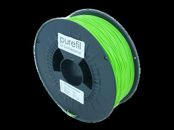 purefil TPC Filament 52D leuchtgrün 1kg 1.75mm