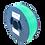 Thumbnail: purefil MABS Filament grün transparent 1kg 1.75mm