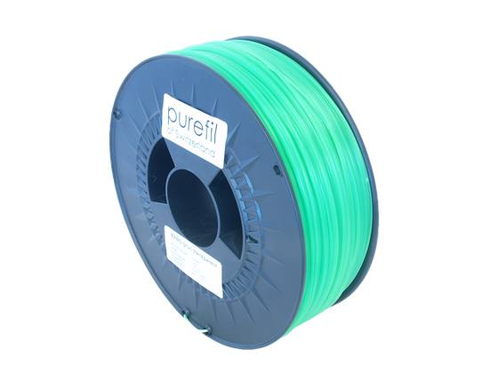 purefil MABS Filament grün transparent 1kg 1.75mm