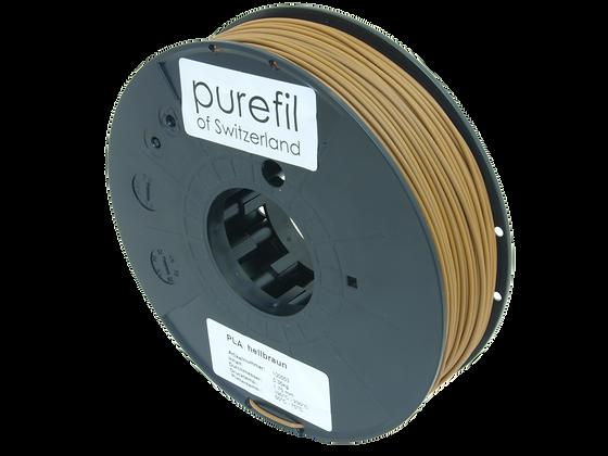 purefil PLA Filament hellbraun 0.35kg 1.75mm