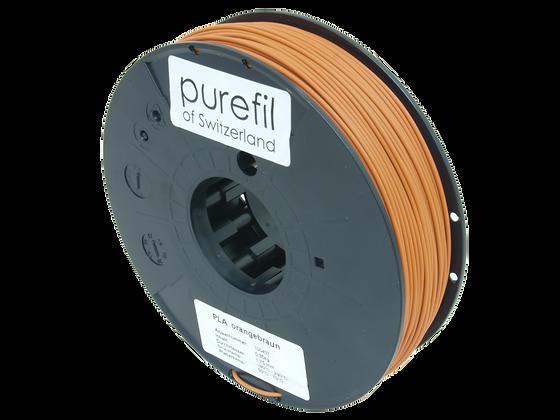purefil PLA Filament orangebraun 0.35kg 1.75mm