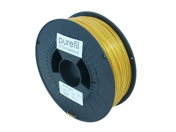 purefil bioTEC Filament gold 1kg 1.75mm