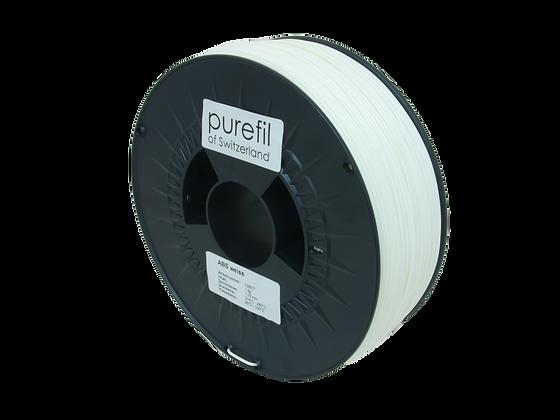 purefil ABS Filament weiss 1kg 1.75mm