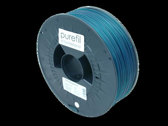 purefil TPU Filament 53D grün transparent 1kg 1.75mm