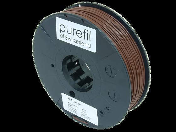 purefil PLA Filament braun 0.35kg 1.75mm