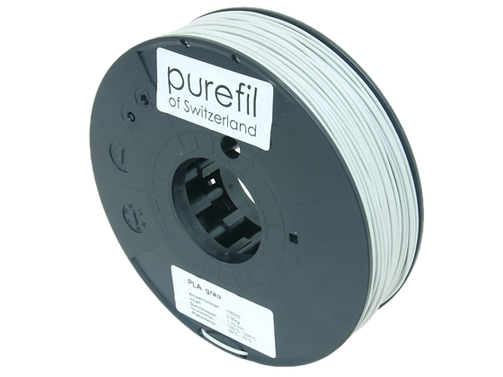 purefil PLA Filament grau 0.35kg 1.75mm