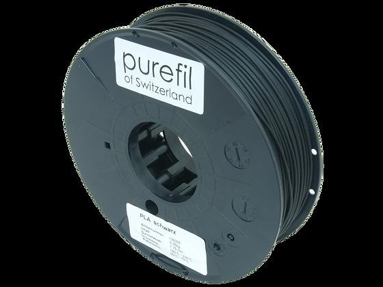 purefil PLA Filament schwarz 0.35kg 1.75mm
