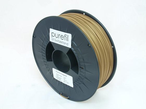 purefil PLA Filament bronzegold 1kg 1.75mm