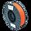 Thumbnail: purefil PLA Filament rotorange 0.75kg 1.75mm