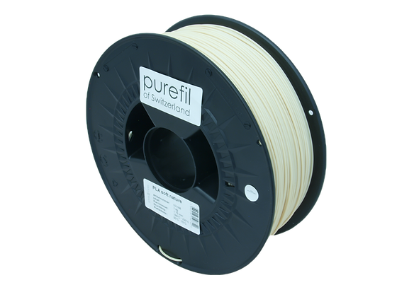 purefil PLA soft Filament nature 1kg 1.75mm