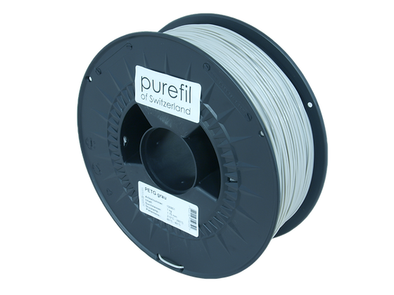 purefil PETG Filament grau 1kg 1.75mm