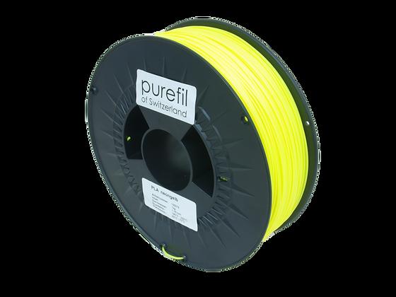 purefil PLA Filament neongelb 1kg 1.75mm