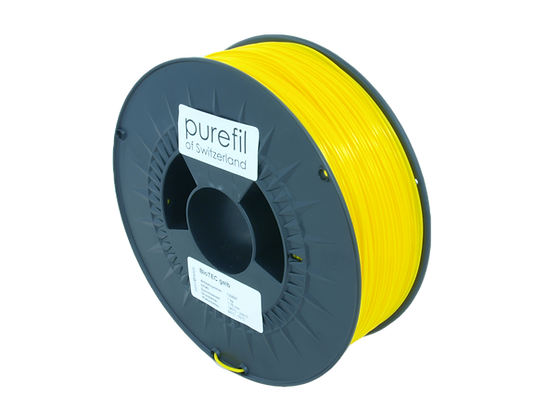 purefil bioTEC Filament gelb 1kg 1.75mm
