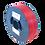 Thumbnail: purefil MABS Filament rot transparent 1kg 1.75mm