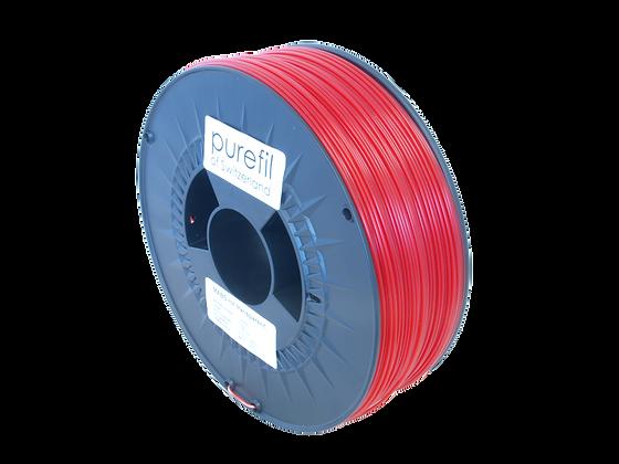 purefil MABS Filament rot transparent 1kg 1.75mm