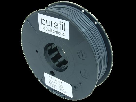 purefil PLA Filament anthrazit 0.35kg 1.75mm