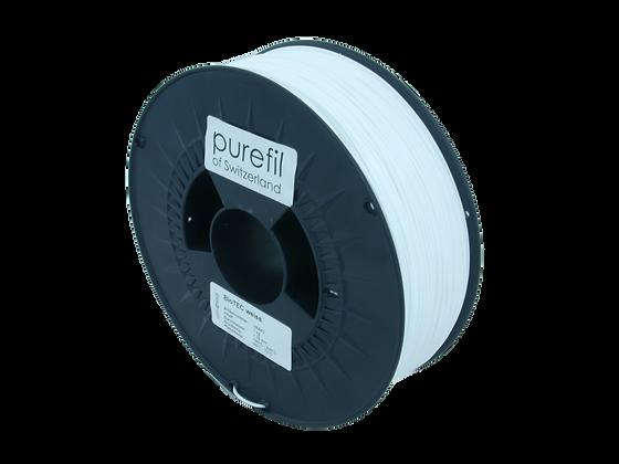 purefil bioTEC Filament weiss 1kg 1.75mm
