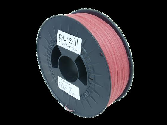 purefil PLA Filament faserrot 1kg 1.75mm