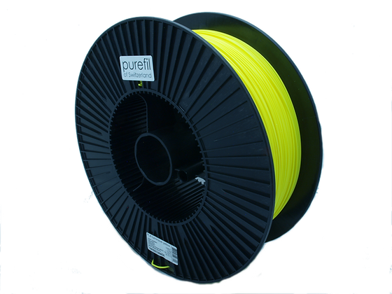 purefil PLA Filament neongelb 2.5kg 1.75mm