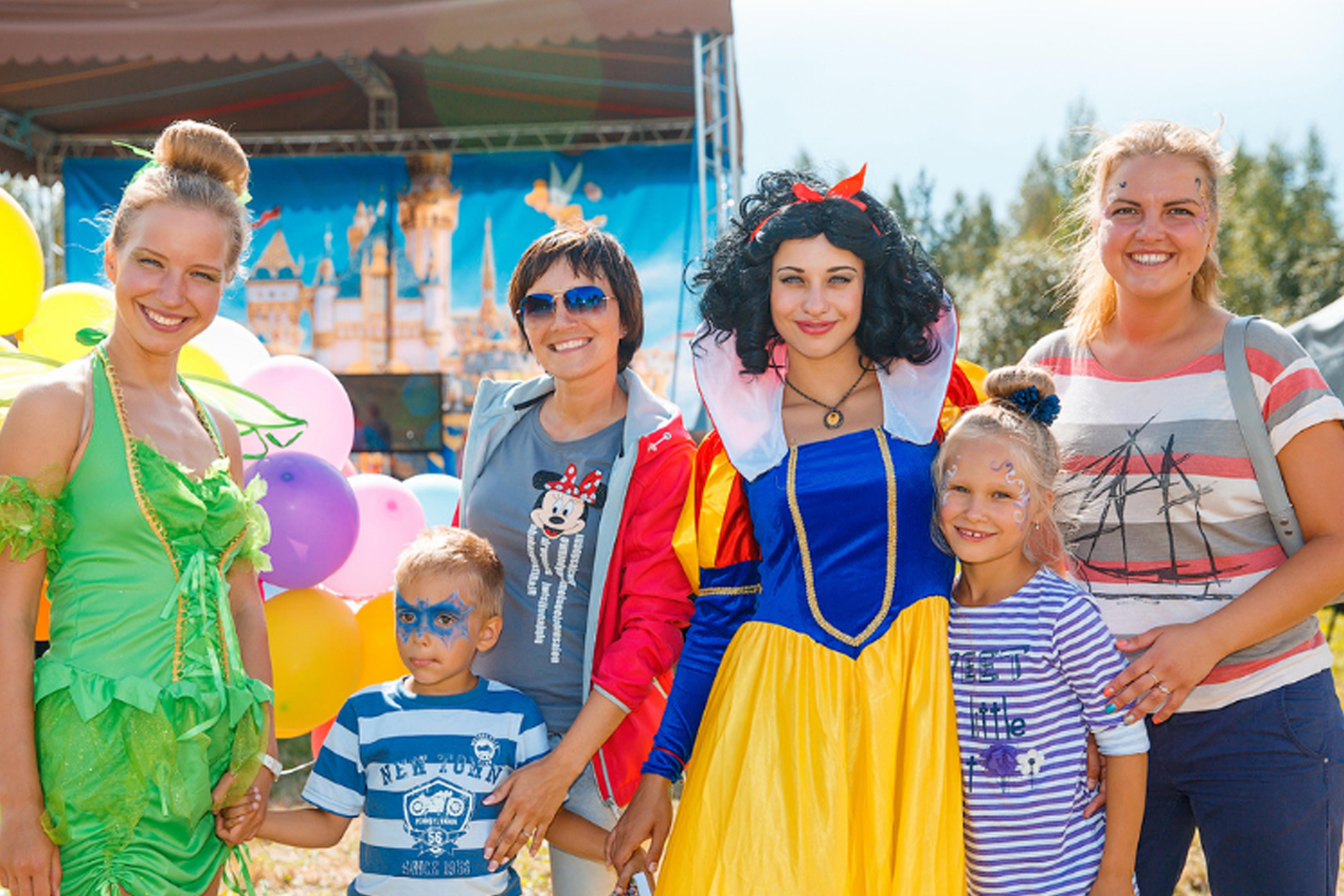 Family Day  в стиле DisneyLand_01