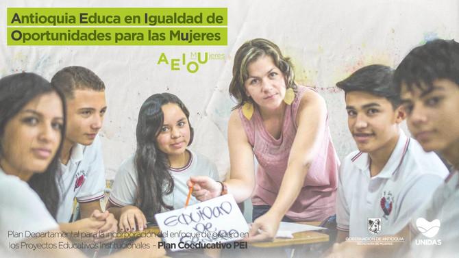 Antioquia Educa en Igualdad de Oportunidades para las Mujeres